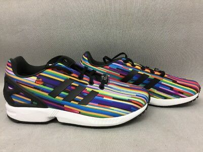9787f7c26 ADIDAS ORIGINALS YOUTH ZX Flux Shoes Size US 5.5Y S76289  BRH ...