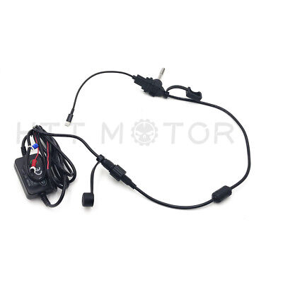 Waterproof USB Motorcycle Mobile Phone GPS Power Supply Port Socket Charger 12V