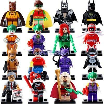 New Batman Movie Super Heroes LEGOs | Robin Catwoman Batman Avengers Harley Quin