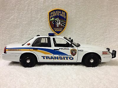 1/18 Puerto Rico Police Transito .///DECAL SET ONLY///DECAL SET ONLY//READ...