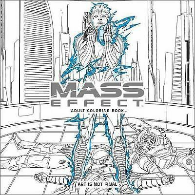 Mass Effect Adult Coloring Book Darkhorse Books Bioware Original Trilogy & MEA