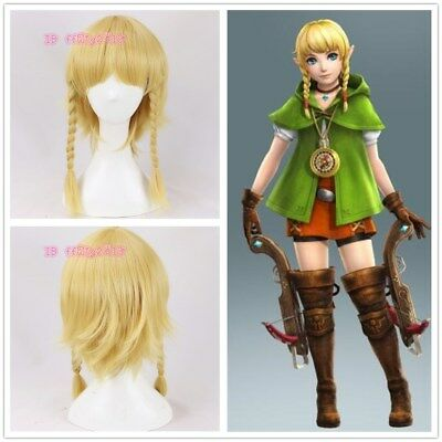 The Legend Of Zelda Hyrule Warriors Linkle Cosplay Blonde