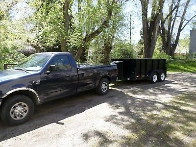 CNG  and LNG and CNG fueling trailer and weights and measures +2001 f-150 7700 s