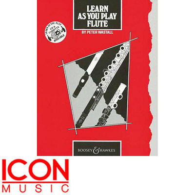 Learn As You Play Flute by Peter Wastall, Book Only