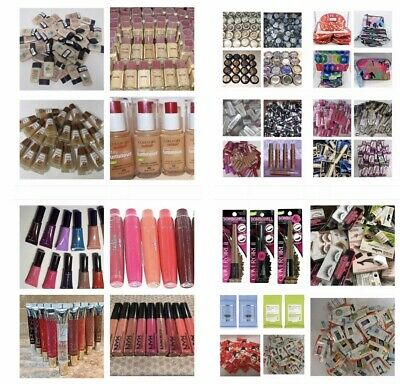 100 Pcs-mixed lot of cosmetics , Revlon , cover girl Maybelline and more!