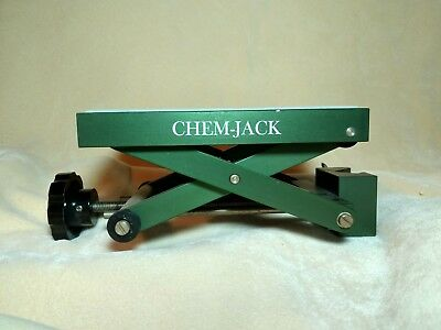 Chemglass Chem-Jack LAB SUPPORT JACK, LATTICE/ROD MOUNT CG 3053