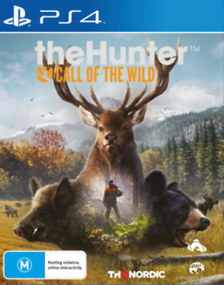 The Hunter Call of The Wild PS4 Playstation 4 Game Brand New in Stock