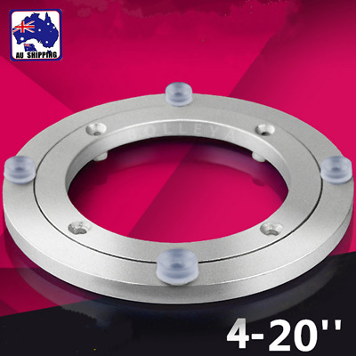 4 - 20'' Rotating Lazy Susan Bearing Turntable Round Table Swivel Plate HTR0008