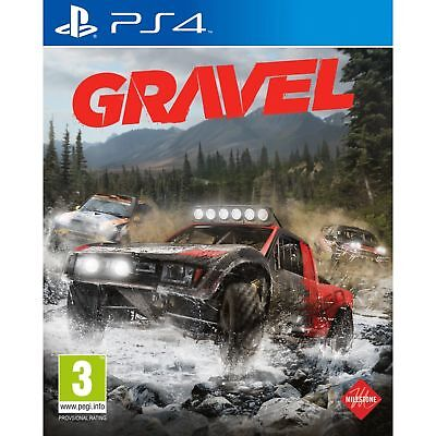 Gravel PS4 Playstation 4 Brand New Sealed In Stock