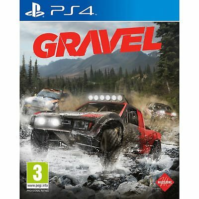 Gravel PS4 Playstation 4 Brand New in Stock From Brisbane