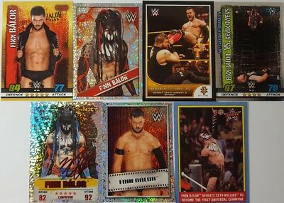 WWE FINN BALOR  trading Card LOT US + UK no doubles