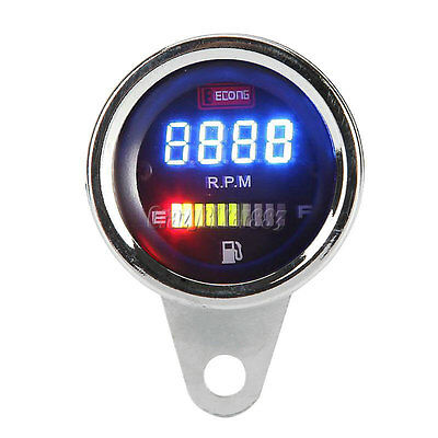 Motorcycle Tachometer Fuel Gauge For Harley Dyna Softail Sportster XL 1200 883