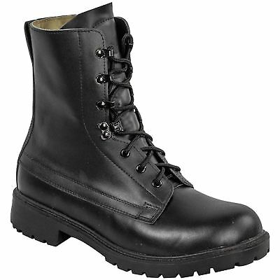 Highlander Ranger Army Assault Boots Leather Cadet Tactical Security Military