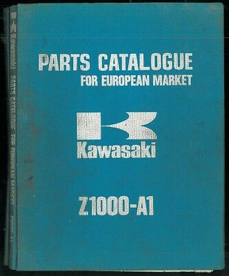 Parts List KAWASAKI Z 1000 A1 Catalogue des pièces 1976 - 1977 European Market