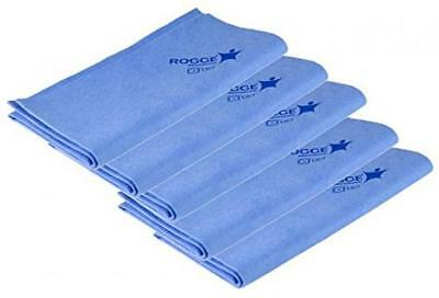 5er Pack - ROGGE Professional Microfasertuch ca.38x40 cm, fuer...