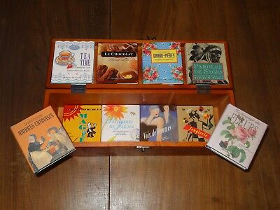 Lot 10 mini-livres (Ombres chinoises, chocolat, proverbes, jonglerie, magie...)