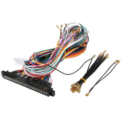 Standard Harness Wires Cables 28Pin for Arcade JAMMA Video Games Cabinet AC709