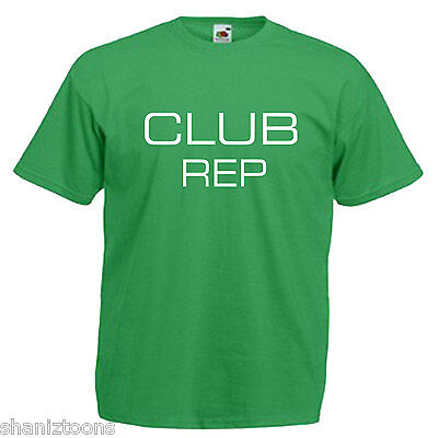 Club Rep Children's Kids Childs Novelty T Shirt