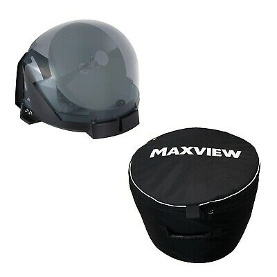 Maxview VuQube Auto II - portable vollautomatische Sat-Antenne