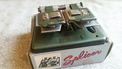 Vintage Photina Universal Cine Movie Splicer, Super 8 8mm 16mm Film Splicing