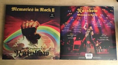 Rainbow Ritchie blackmore's Memories In Rock II 3 LP Limited Green Vinyl Sealed