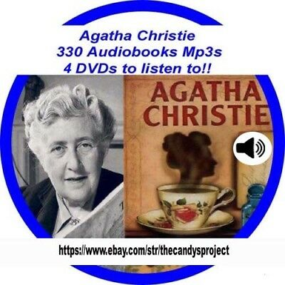 330 MP3 4 DVDs Agatha Christie Audio books Then there were none Fiction Suspense