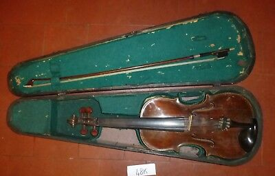 Antique HOPF Violin/ Viola for Restoration (48K)