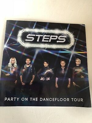 Steps - 'Party On The Dancefloor Tour' programme book from 2017 tour