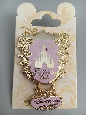 pins disney rare disneyland hotel castle club
