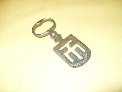 "Original Ornate Odell Type Key - Around 2 3/4"" Total Length - As Photo's."