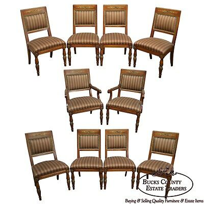 Henredon Grand Provenance French Louis XVI Style Set of 10 Dining Chairs (B)