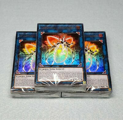 Yugioh 3X Lair Of Darkness Structure Deck English Factory-Sealed 1St Sr06