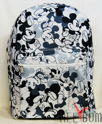 "Disney Mickey Mouse Backpack 16"" Large School Bag"
