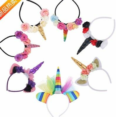 My Little Pony Ears HORN Unicorn Headband Costume cosplay party Accessory