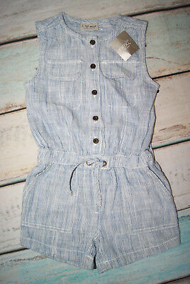 Next BNWT Girls Sleeveless Linien Playsuit All In One Jumpsuit Age 3 Years