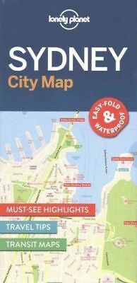 Sydney City Map - New - Lonely Planet - 2016