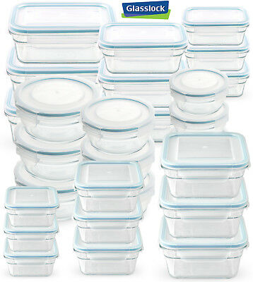Glasslock Food Storage Container Sets Custom GLASSLOCK FOODSTORAGE CONTAINER Microwave Oven Safe 60 Container