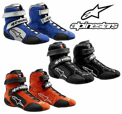 Alpinestars Tech 1-R Race Boot FIA Approved for Oval / Rally / Autograss