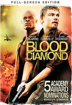 Blood Diamond (Full Screen Edition) DVD Ships in 24 hours!