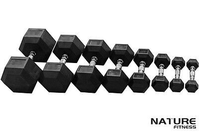 Pair of Hex Dumbbell Gym Fitness From 1kg to 10kg Free Shipping Selected Area