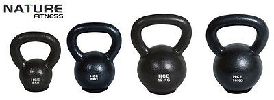 Nature Fitness Gym 4 8 12 16kg Package Russian Classic Steel Kettlebell Weights