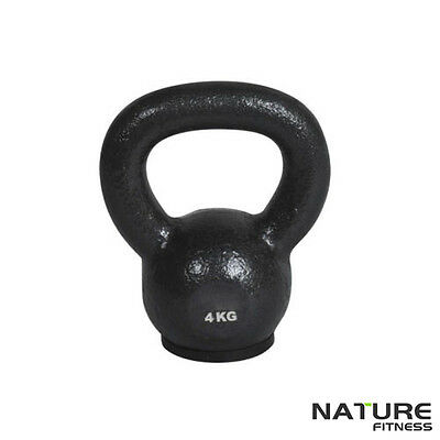 Nature Fitness 4kg - 24kg Russian Classic Kettlebell Home & Gym Strength Weights