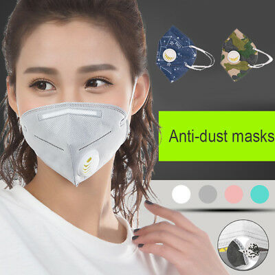 Riding Mask Anti-Dust Mask Comfortable Breathable Color Random Filter Cloth