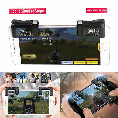 Smartphone Mobile PUBG Shooter Controller Gaming Trigger Fire Button Handle