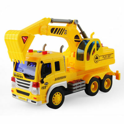 Kids Toy 1/16 Large Construction Truck Excavator Digger Demolition Vehicle Cars