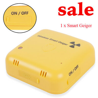 Wireless Bluetooth Smart Geiger Nuclear Gamma X-ray Radiation Detector Android