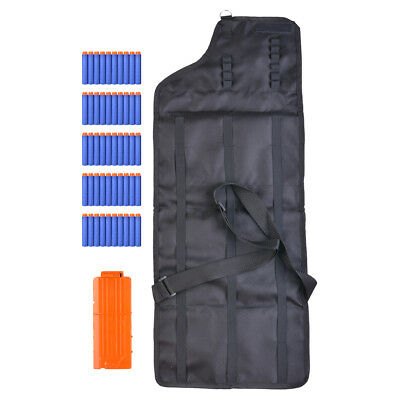 Toy Gun Bullet Storage Bag Kids Tactical Shoulder Pouch for Nerf N-Strike TH830