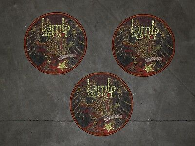 "LAMB OF GOD ""Killadelphia"" woven Patch"