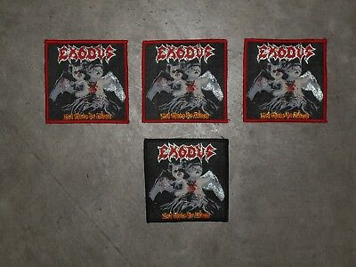 "EXODUS ""Let there be Blood"" woven patch"
