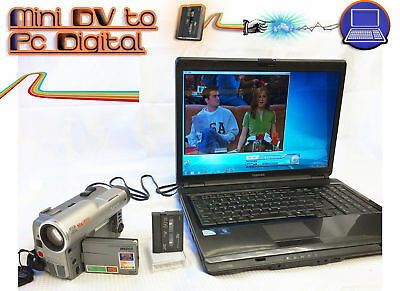 MiniDV Player / Recorder Kit ~ Convert Copy Mini DV to DVD, PC + CAMCORDER!